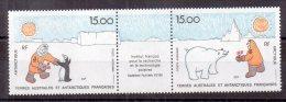 TAAF PA 118 Et 119: 2 Timbres**. (TA182) - Terres Australes Et Antarctiques Françaises (TAAF)