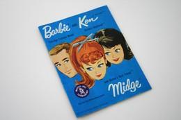 "Barbie Accesoires '50-'60 -  Booklet ""BARBIE And KEN"" - 1962 - 32 Pages - Original Vintage Barbie - Ken - Ricky - - Barbie"