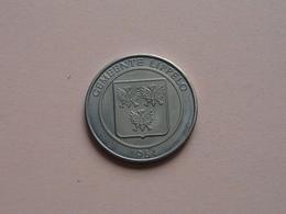 LIPPELO - 1984 ( 100 Fays ) Zilverkleurig ! - Fichas De Municipios
