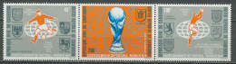 Cameroon 1974 Football Soccer World Cup Set Of 3 MNH - Coppa Del Mondo