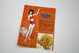 """Barbie Accesoires '50-'60 -  Leaflet """"Barbie's Dreamhouse / Midge"""" - 1962 - 2 Pages - Original Vintage Barbie - Ken - - Barbie"""