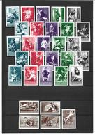 1560q: DR/ Ostmark, Ca. 1940, Aktfotografie- Studien Auf 60 Briefmarken- Forgery Issues/ Reprints (fake-faux), 2 Scans - Abarten & Kuriositäten