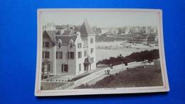 Dinard La Plage Photo De Cabinet  Rare Début De Siècle - Dinard