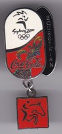 PIN DE COCA-COLA DE LAS OLIMPIADAS DE SYDNEY 2000 - EQUESTRIAN- HIPICA (COKE) OLYMPIC GAMES - Coca-Cola