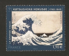 2015 - N° 4923 KATSUSHIKA HOKUSAI La Grande Vague -NEUF ** LUXE - France