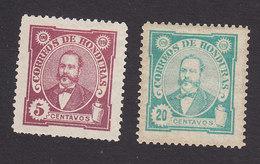 Honduras, Scott #97a, 99, Mint Hinged, Arias, Issued 1896 - Honduras
