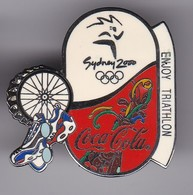 PIN DE COCA-COLA DE LAS OLIMPIADAS DE SYDNEY 2000 - ENJOY TRIATHLON (COKE) OLYMPIC GAMES - Coca-Cola