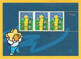 Portugal / Acores  2000  Mi.Nr. Block 20 (475) , EUROPA CEPT Kinder Bauen Sternenturm - Gestempelt / Used / (o) - 2000