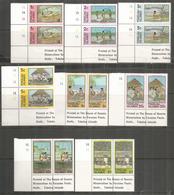 La Vie Quotidienne Aux Iles Tokelau.  16 Timbres Neufs ** En Paires. , Bord De Feuille - Tokelau