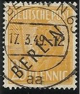 Allemagne BERLIN 1948 N° 10 Oblitéré Surcharge Noire - [5] Berlin