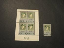 IRLANDA - 1972 50rio + BF - NUOVI(++) - 1949-... Repubblica D'Irlanda