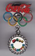 PIN DE COCA-COLA DE LOS AROS OLIMPICOS (COKE) OLYMPIC GAMES - Coca-Cola