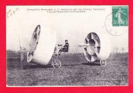 Aviation-383Ph55  Aéroplane GIVAUDAN, Construit Par Les Usines Vermorel De Villefranche Sur Saône, Cpa BE - ....-1914: Précurseurs