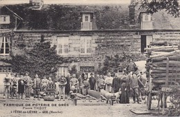 GER - L'ÊTRE-au-LIÈVRE - Fabrique De Poterie De Grès - Pierre THEOT - Très Belle Carte Animée - Parfait état - Frankreich