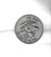 Coin  Militaire  LES  EVAT  DE  ROC  ET  DE  FEU 93  Verso  REGIMENT  D' ARTILLERIE  DE  MONTAGNE  93  N° 099 - Army & War