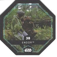 JETON LECLERC STAR WARS   N° 38  ENDOR - Power Of The Force
