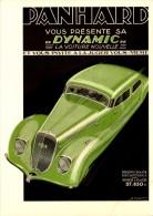 Publicité  - Automobile -  Panhard - Dynamic -  R/V  - Repro - SC73-4 - Werbepostkarten