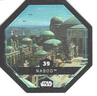 JETON LECLERC STAR WARS   N° 39  NABOO - Power Of The Force