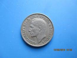 Royaume Des Serbes, Croates Et Slovènes, Alexandre 1er, 1 Dinar 1925, TTB - Joegoslavië