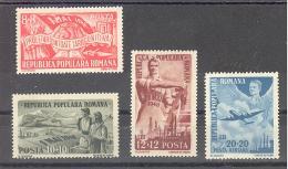 Romania  Michel #  1121-24 ***   1. Mai Tag Der Arbeit - Ungebraucht