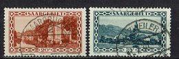 Saargebiet 1926/1927 // Mi. 110,111 O - 1920-35 Société Des Nations