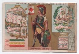 Liebig/Sanguinetti/S ? /Jeu De Cartes/ Série N°3/ Indépendance /HUTINET /1878 -1883            LBG70 - Liebig