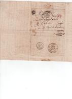 ( Aveyron ) St Affrique T15 + BR C = Versols 13/04/1839 - Marcofilie (Brieven)