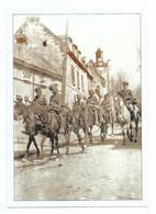 CPM Saint Riquier 80 Le Passage Des Troupes Britaniques à Saint Riquier Pendant La Guerre De 14/18 - Bourses & Salons De Collections