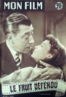 FILM-342-LE FRUIT DEFENDU-FERNANDEL-FRANCOISE ARNOUL-FERNAND SARDOU-1953 - Cinema