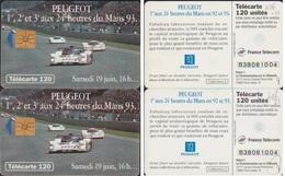 F406 Paire TELECARTES MEME N° B38081004 AVEC Et SANS 2eme MORENO SAMEDI  19 JUN 16 H - France