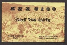 CB QSL Card - Ghost Town Hunter Phoenix, Arizona - CB