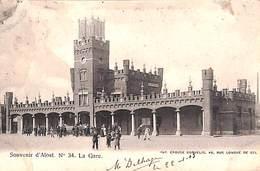Alost  - La Gare (précurseur...slechte Staat Zie Scans) - Aalst