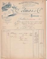 Souillac (Lot) - Delmas & Cie - Plaques & Poudre - 1900 – 1949