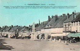 84Vn   45 Courtenay La Place En TBE - Courtenay