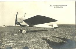 Sanke Nr.1018 - Fokker - Kampfflieger - Allemande  Photo Carte - Guerre 14 -18 - Guerre 1914-18