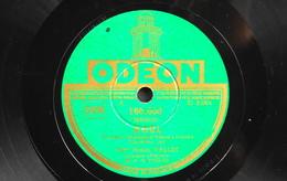 78 Trs - ODEON 166.668 - Mme Ninon VALLIN - Noël Et Chant Hindou - Bon Etat - 78 T - Disques Pour Gramophone