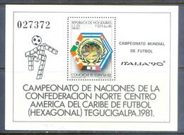 F41- Honduras 1990 Football Soccer World Cup. - Soccer