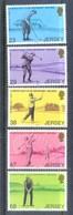 F44- Jersey 2002 Moye Golf Club 100th Anniversary. - Stamps