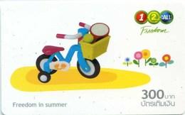 Mobilecard Thailand - 12Call -  Freedom In Summer - Spielzeug (5) - Tadzjikistan
