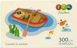 Mobilecard Thailand - 12Call -  Freedom In Summer - Spielzeug (6) - Tadschikistan