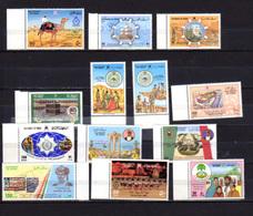 1986    Oman, Année Complète, Yv. 275 / 287**, Cote 60 €, - Oman