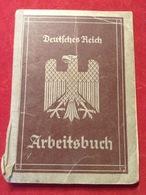 Deutsches Reich Arbeitsbuch 1935 Meta Magar Altenahr Ahrweiler Berlin Mitte WW2 - Documents