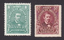 Honduras, Scott #119, 125, Mint Hinged, Medina, Issued 1907 - Honduras