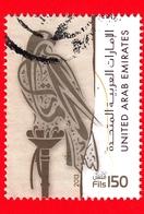 EMIRATI ARABI UNITI - Usato -  2013 - Uccelli Rapaci - Falco - Hawk Beige - 150 - Emirats Arabes Unis