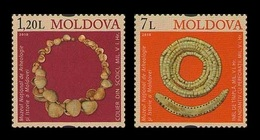 Moldova 2010 Mih. 691/92 Exhibits Of The National Museum Of Archeology And History MNH ** - Moldavië