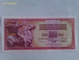 Billete Yugoslavia. 100 Dinares. 1978. Excelente Conservación - Yugoslavia