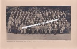MORTSEL-AGFA-GEVAERT-1952-VRIENDENKRING GEPENSIOENEERDE LEDEN-GEDECOREERDEN-ORIGINELE FOTO+ - 17-28 CM-TOP ! ! ! - Mortsel
