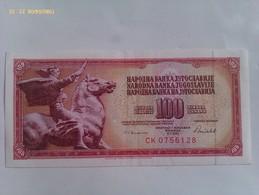 Billete Yugoslavia. 100 Dinares. 1986. Excelente Conservación - Yugoslavia