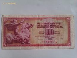 Billete Yugoslavia. 100 Dinares. 1986 - Yugoslavia