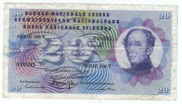 Suisse // Schweiz // Switzerland // 20 Francs 1976 No.030895 - Switzerland